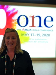 Angela Kirkwood at Alltech's HQ in Kentucky, US