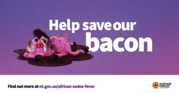 Australia's Northern Territory government has started an advertising campaign to raise awareness of the risks of ASF