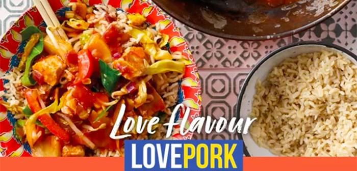 Love Pork shot