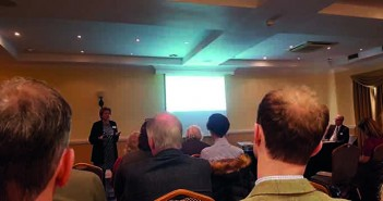 Meryl Ward addresses the Nottingham Farming Conference