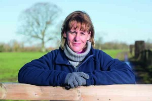 Minette Batters on farm