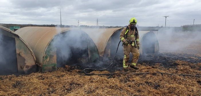 Bramham pedometer Pig fire, credit: Russell Jenkinson