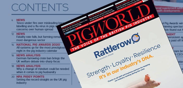 Pig World August 2020 issue