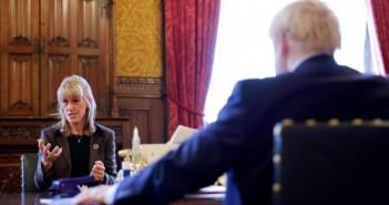 Minette Batters Boris Johnson