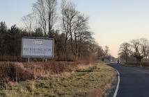 Recruitment sign A64 (2)