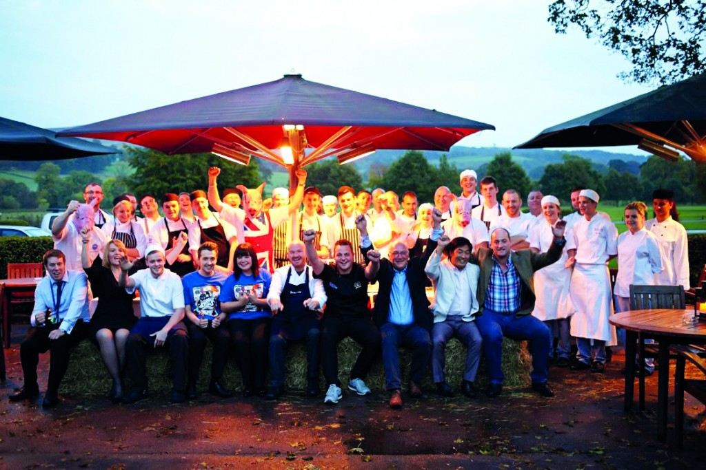 Dingley Dell's 'Flying Visit' to The Devonshire Arms Hotel & Spa