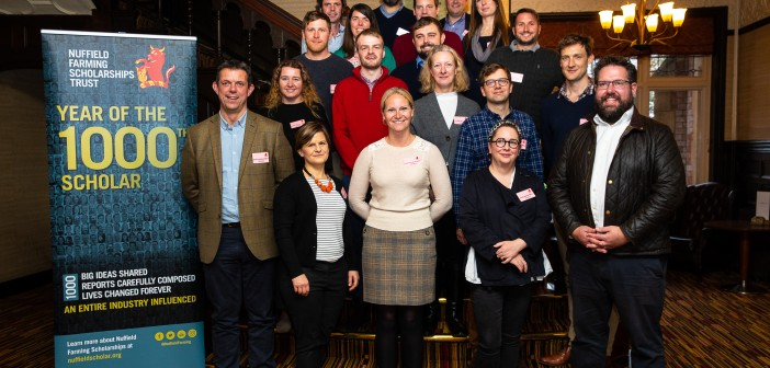 2020 Scholar Group at the 2019 Nuffield Farming Conference in Kenilworth, Warwickshire