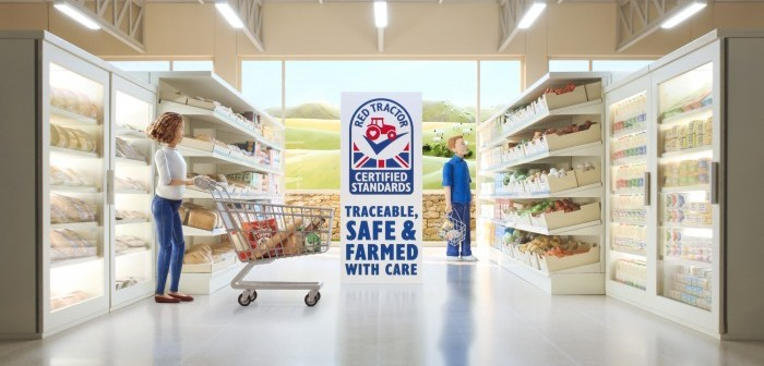Red Tractor Supermarket