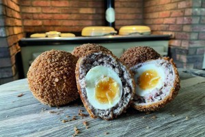 Lincolnshire Cookery School – Scotch egg