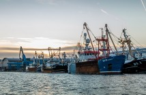 22nd,October,2017;,Shoreham,Port,,Sussex,,Uk,,A,Fishing,Fleet
